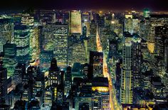Wall Mural HENRI SILBERMAN - NYC  from the empire state building
