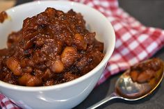 Baked Beans with Tangy BBQ Sauce