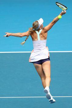 Caroline Wozniacki Tennis, Monica Puig, Rod Laver Arena, Camila Giorgi, Elizabeth Berkley, Tennis Photos, Maria Sharapova Photos, Tennis Players Female, Australian Open