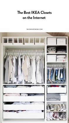 The best IKEA closets