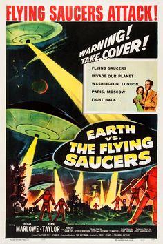 vintage scifi posters - Google Search Classic Sci Fi Movies, Classic Movie Posters, Horror Movie Posters, Film Science Fiction, Fiction Film, Tv Movie, The Frankenstein, Sci Fi Films, Sci Fi Horror
