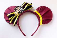 Hollywood Studios Tower of Terror Bellhop Inspired Mickey Mouse Ear Headband from InCindysCloset