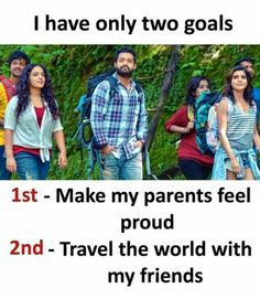 Many boys two goals in life meme - tamil memes Besties Quotes, Best Friend Quotes, True Quotes, Funny Quotes, Deep Quotes, Bestfriends, Calm Quotes, Funny Memes, Girly Attitude Quotes