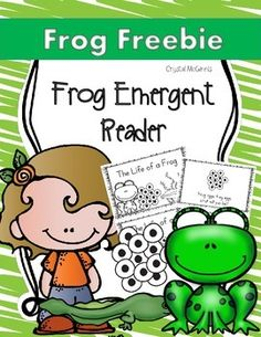 I created this emergent reader to use while my students are studying life cycles and the life cycle of a frog. Enjoy!