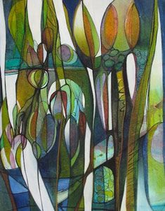 Ascend - Debra Andrews Artist, BC Canada