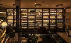 Cut & Craft is the latest addition to the ever growing JMDA portfolio, situated in the heart of the historical City of York. Restaurant Design, Restaurant Bar, Design Interiors, Interior Design, Luxury Bar, Liquor Cabinet, Shelves, York, Crafts
