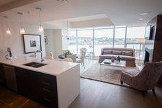 #halifax #novascotia #QEII #lottery #grandprize #condo #kingswharf #dartmouth #design #home #kitchen #kitchencounter #livingroom #windows #sunny #bigwindows #carpet #diningroom #livingspace