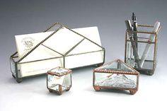 Sunflower Glass Studio   Table Top Accessories