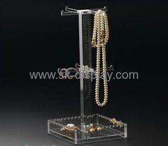 Clear acrylic jewelry display stand JD-009