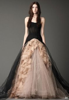 October ball gown
