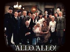 Allo Allo comedy series shown on the BBC Comedy Series, Comedy Tv, Comedy Show, Series Movies, Movies And Tv Shows, British Tv Comedies, Classic Comedies, British Comedy, Cinema