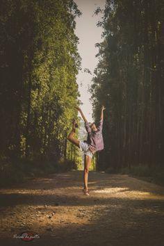 Bailarina natureza