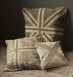 Recycled Canvas Pillow Covers