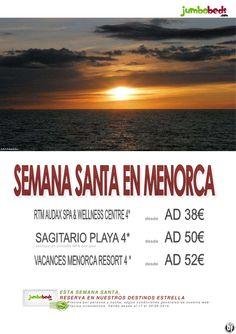 ¡¡Disfruta de la Semana Santa en Menorca dsd 38€ pax/día!! ultimo minuto - http://zocotours.com/disfruta-de-la-semana-santa-en-menorca-dsd-38e-paxdia-ultimo-minuto/