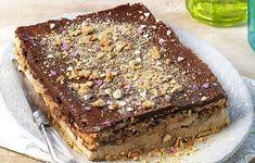 Kolač od keksa i banane - Recept - Kolači Greek Sweets, Greek Desserts, Party Desserts, Greek Recipes, Snack Recipes, Dessert Recipes, Kolaci I Torte, Icebox Cake, My Best Recipe