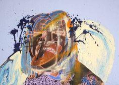 "Saatchi Art Artist Hans Simtanda Caspersen; Painting, ""7 Years Old"" #art"