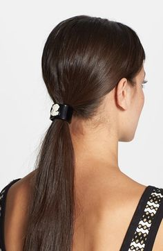 L. Erickson 'Cameo Cuff' Ponytail Holder available at #Nordstrom