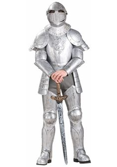 A Medieval Knight Costume