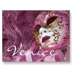 Carnaval Venetië met maskers
