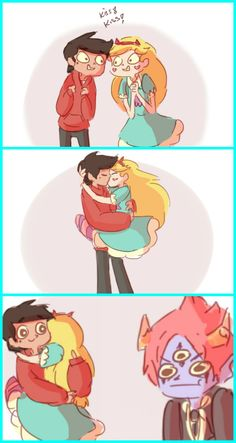 Oh wait,no I'm not! (but I still love youuu) Starco Comic, Star Butterfly, Star Wars, Star Vs The Forces Of Evil, Cartoon Pics, Force Of Evil, Cute Anime Couples, Little Pony, Geek Stuff