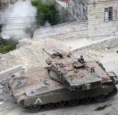 e2ac70041311 Merkava Mk II of the Israeli army in battle