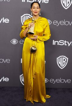 Tracee Ellis Ross - If The Golden Globes Red Carpet Didn't Impress You, The Killer After Party Looks Will Celebrity Red Carpet, Celebrity Style, Celebrity Crush, Golden Globes After Party, Tracee Ellis Ross, Red Carpet Gowns, Party Fashion, High Fashion, Women's Fashion