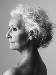 ~It's beautiful to truly look your age~  Well done, FRANÇOISE DE STAEL