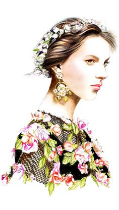 Dolce & Gabbana S/S 2014 for Swide by Lidia Luna