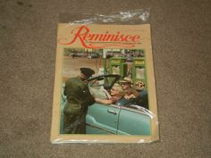 REMINISCE Magazine Aug/Sept 2008 Back Issues Good Old Times Gas Station (Book)