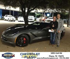 https://flic.kr/p/BstEf2 | Happy Anniversary to Nicole & John on your #Chevrolet #Corvette from Pamela Profitt at Huffines Chevrolet Plano | deliverymaxx.com/DealerReviews.aspx?DealerCode=NMCL