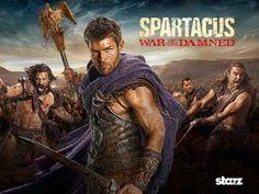Torrent's Séries: Spartacus  Na continuação da fuga de sangue da Cas...