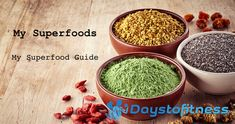 My superfoods guide cover