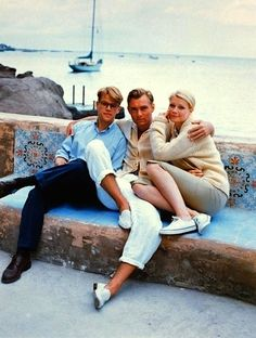 Matt Damon, Jude Law and Gwyneth Paltrow in Anthony Minghella's 1990 film The Talented Mr. Ripley, by Phil Bray