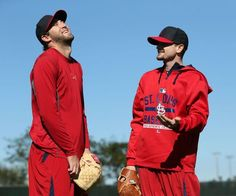 Cardinals Report Day : Gallery