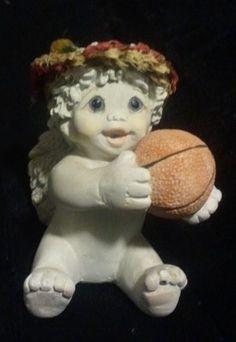 "Dreamsicles ""All Star - Basketball"" Figurine #11075"