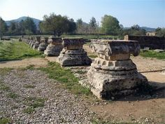Home of the Olympics. Olympia Greece, Archaeological Site, Olympics, Ornament, Vacation, Gallery, Ideas, Decoration, Vacations