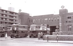 Peckham bus garage