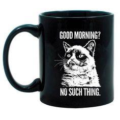 GRUMPY CAT Good Morning? No Such Thing Mug