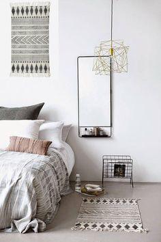 Skandinavische Schlafzimmer von Muebles Capsir https://www.homify.de/ideenbuecher/45416/so-wird-dein-schlafzimmer-zum-gemuetlichsten-ort-der-welt