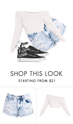 """""""Untitled #1"""" by nelah-boo ❤ liked on Polyvore featuring Boohoo and Dsquared2"""