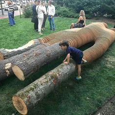 Few things in life are as much fun as woodworking. Woodworking allows you to show off your carpentry skills. Woodworking is great for so many reasons. Into The Woods, Log Furniture, Urban Furniture, Architecture Artists, Wood Working For Beginners, Parcs, Woodworking Tips, Woodworking Inspiration, Youtube Woodworking