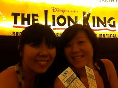 1st musical with Lizhen @ Broadway NYC - June 2011