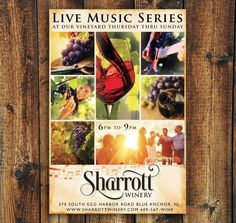 Make your winery larger on posters & billboards. Cool Magazine, Magazine Ads, Ad Design, Graphic Design, Concert Posters, Billboard, Live Music, Make It Yourself, Advertising Design