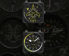 Every Spy Has At Least One:  Bell & Ross Introduces The All New Flight Instruments Collection
