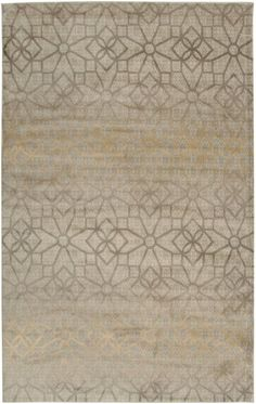 Rizzy Home BS3589 Bayside Power Loomed Polypropylene Rug Ivory 9 1/4 x 12 1/2 Home Decor Rugs Rugs