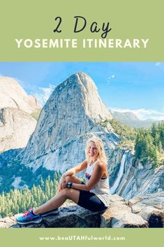 Looking for things to do in Yosemite National Park? This 2 day Yosemite itinerary is packed with Yosemite National Park hikes, recommendations for where to stay in Yosemite National Park, Yosemite National Park itinerary #yosemite #yosemitenationalpark #yosemiteitinerary California National Parks, National Parks Usa, Yosemite National Park, California Travel, Travel Usa, Travel Tips, Travel Guides, Travel Destinations, Yosemite Falls