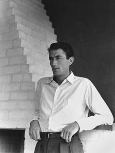 Gregory Peck, c.1945. Photograph by John Engstead.