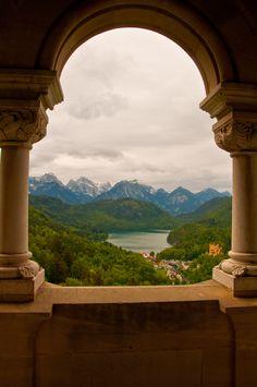 Ludwig´s Balkon...amazing view!