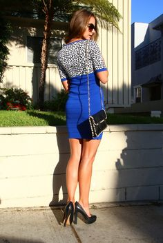 Turn heads with this elegant #cheetahprint #shortdress that will never wither.