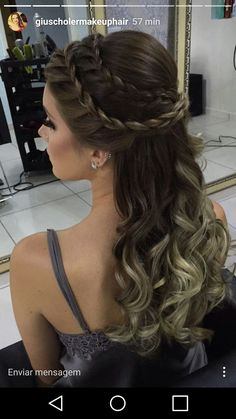 50 Long Hair Models Hair Hair # High-HalfHairSaarden Hair New Site Bridesmaid Hair Updo Bridesmaid Hair HighHalfHairSaarden Long Models Site Quince Hairstyles, Box Braids Hairstyles, Down Hairstyles, Wedding Hairstyles, Hairstyle Ideas, Updo Hairstyle, Wedding Updo, Fancy Hairstyles, Celebrity Hairstyles